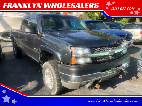 2004 Chevrolet Silverado 2500HD LS for sale at FRANKLYN WHOLESALERS in Cohoes NY