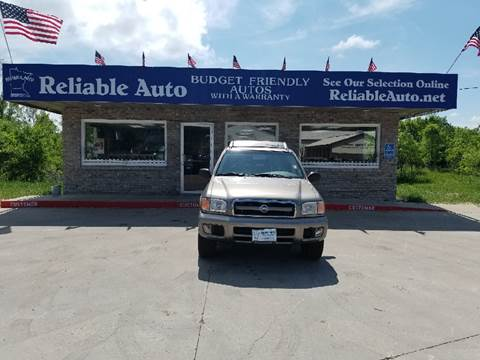 2004 Nissan Pathfinder for sale at Reliable Auto in Cannon Falls MN