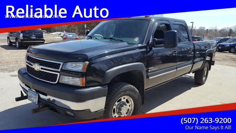 2006 Chevrolet Silverado 2500HD for sale at Reliable Auto in Cannon Falls MN
