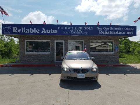 2010 BMW 5 Series for sale at Reliable Auto in Cannon Falls MN