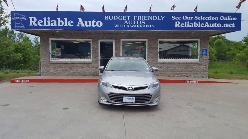 2015 Toyota Avalon for sale at Reliable Auto in Cannon Falls MN