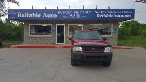 2003 Ford Explorer for sale at Reliable Auto in Cannon Falls MN