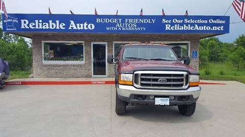 2001 Ford F-250 Super Duty for sale at Reliable Auto in Cannon Falls MN
