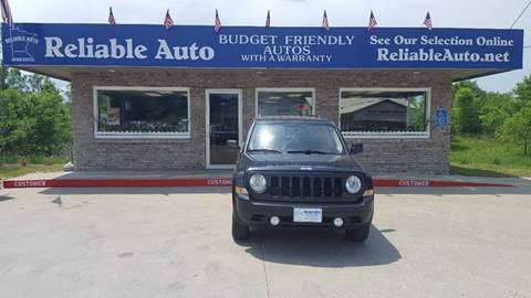 2011 Jeep Patriot for sale at Reliable Auto in Cannon Falls MN