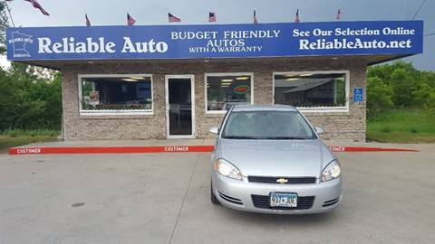 2011 Chevrolet Impala for sale at Reliable Auto in Cannon Falls MN