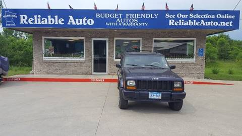 1998 Jeep Cherokee for sale at Reliable Auto in Cannon Falls MN