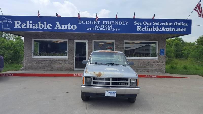 1989 Dodge Dakota for sale at Reliable Auto in Cannon Falls MN