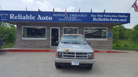1989 Dodge Dakota for sale at Reliable Auto in Cannon Falls MN