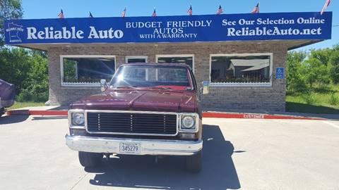 1977 Chevrolet Blazer for sale at Reliable Auto in Cannon Falls MN