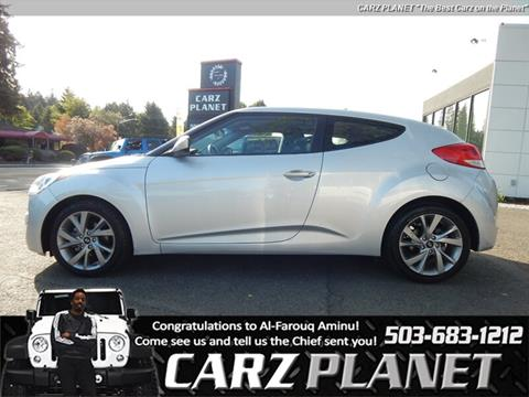 2017 Hyundai Veloster for sale in Gladstone, OR