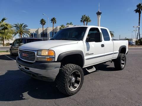 2001 GMC Sierra 2500HD for sale in Las Vegas, NV