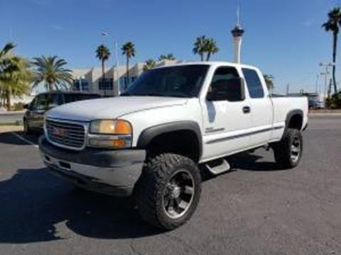 2001 GMC Sierra 2500HD for sale in Las Vegas, NV