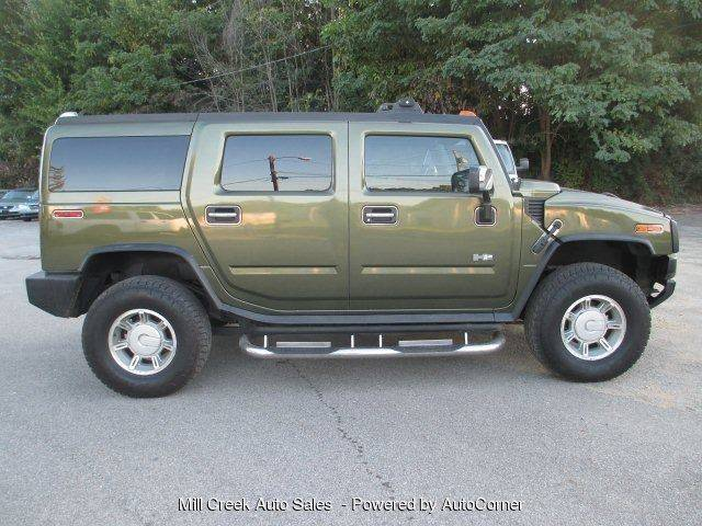 2003 Hummer H2 4dr 4wd Suv In Youngstown Oh Mill Creek Auto Sales