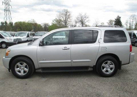 2007 Nissan Armada for sale at Mill Creek Auto Sales in Youngstown OH