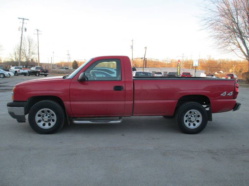2005 Chevrolet Silverado 1500 for sale at Mill Creek Auto Sales in Youngstown OH