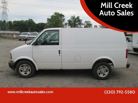 2003 Chevrolet Astro Cargo for sale in Youngstown, OH
