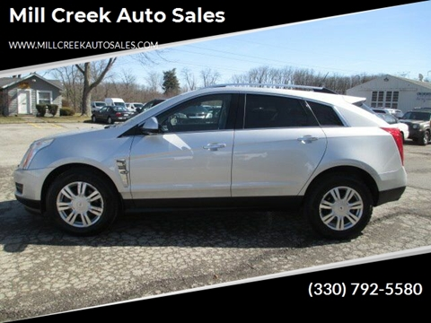 2010 Cadillac SRX Luxury Collection for sale at Mill Creek Auto Sales in Youngstown OH