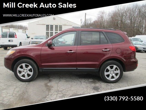 2009 Hyundai Santa Fe Limited for sale at Mill Creek Auto Sales in Youngstown OH