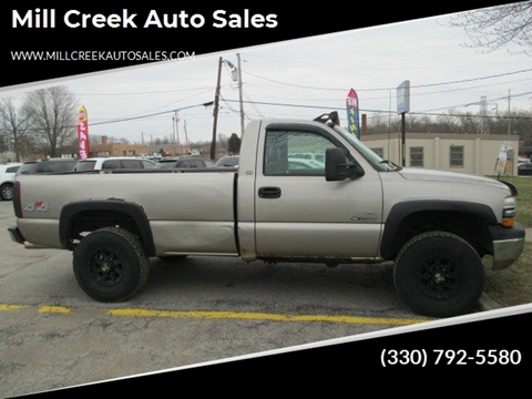 1999 Chevrolet Silverado 2500 for sale at Mill Creek Auto Sales in Youngstown OH