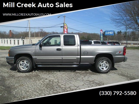 2007 Chevrolet Silverado 1500 Classic LT1 for sale at Mill Creek Auto Sales in Youngstown OH