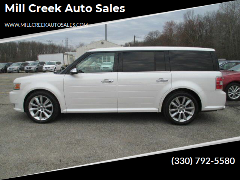2010 Ford Flex Limited for sale at Mill Creek Auto Sales in Youngstown OH