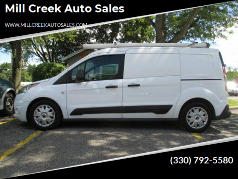 2015 Ford Transit Connect Cargo for sale at Mill Creek Auto Sales in Youngstown OH