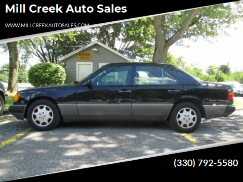1993 Mercedes-Benz 400-Class for sale at Mill Creek Auto Sales in Youngstown OH