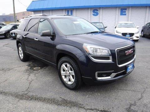 2016 GMC Acadia for sale in Manchester, MD