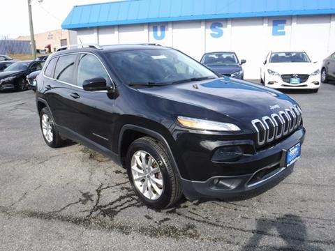 2015 Jeep Cherokee for sale in Manchester, MD