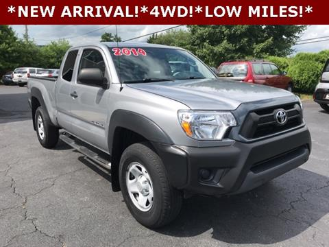 Used Trucks For Sale In Md >> 2014 Toyota Tacoma For Sale In Manchester Md