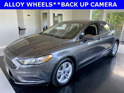 2018 Ford Fusion for sale at Ron's Automotive in Manchester MD