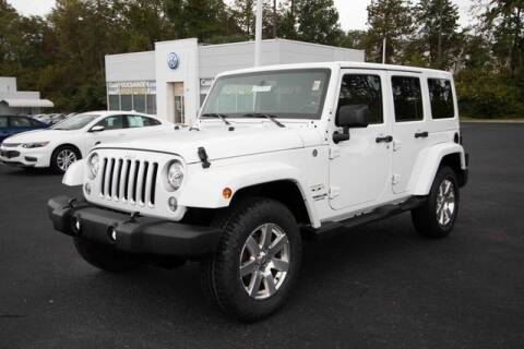2017 Jeep Wrangler Unlimited for sale at Ron's Automotive in Manchester MD