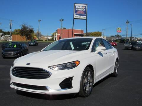 2019 Ford Fusion for sale at Ron's Automotive in Manchester MD