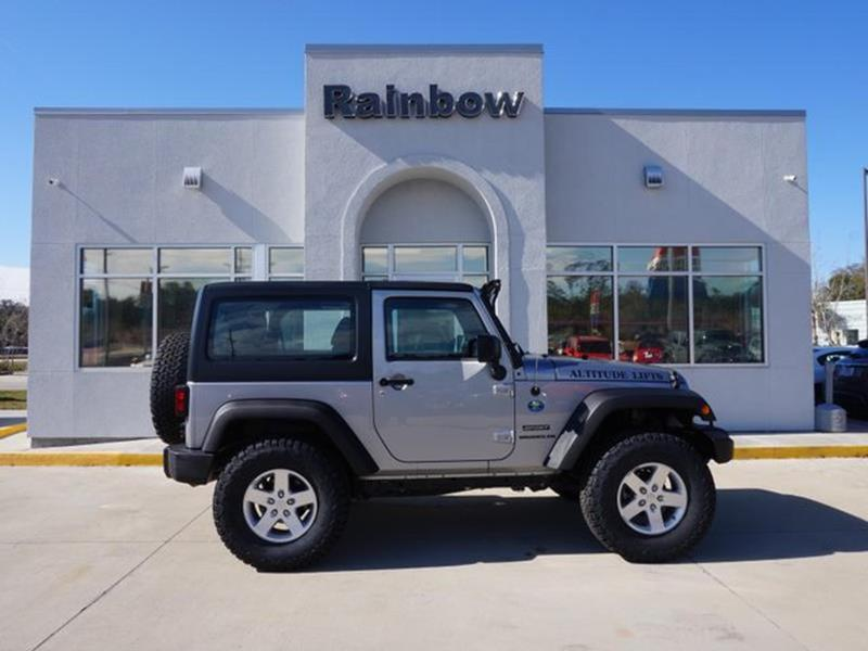 2016 Jeep Wrangler In Covington LA - Rainbow Chrysler Dodge Jeep Ram