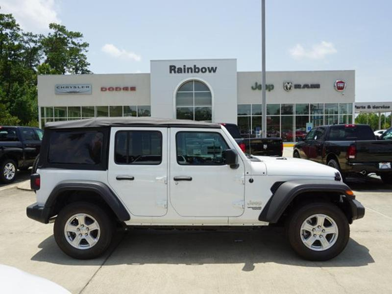 2018 Jeep Wrangler Unlimited For Sale At Rainbow Chrysler Dodge Jeep Ram  Fiat In Covington LA