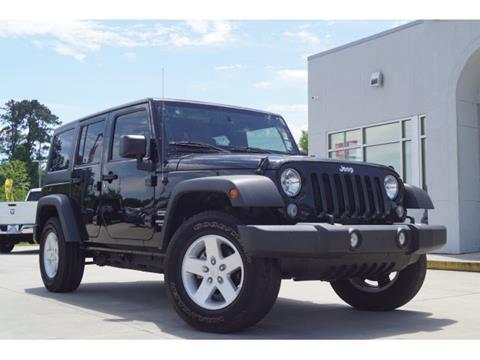 2017 Jeep Wrangler Unlimited for sale in Covington, LA