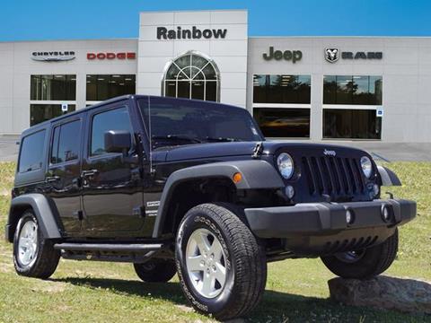 2015 Jeep Wrangler Unlimited for sale in Covington, LA