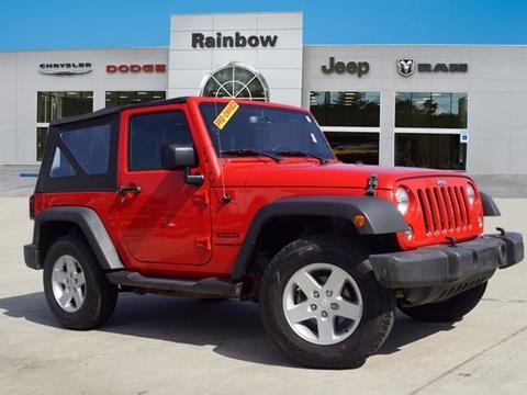 2017 Jeep Wrangler for sale in Covington, LA