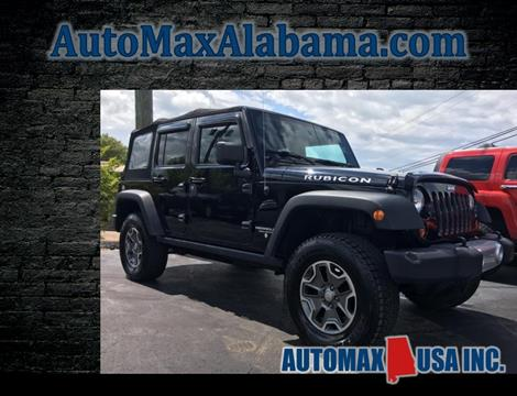 2013 Jeep Wrangler Unlimited for sale in Tuscaloosa, AL