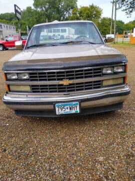 1989 Chevrolet C/K 1500 Series for sale at Southtown Auto Sales in Albert Lea MN