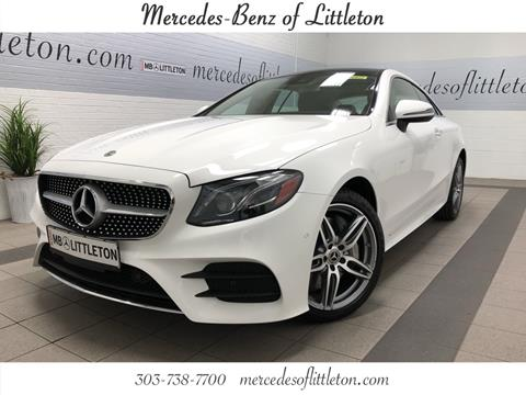 Coupe for sale in littleton co for Mercedes benz of littleton