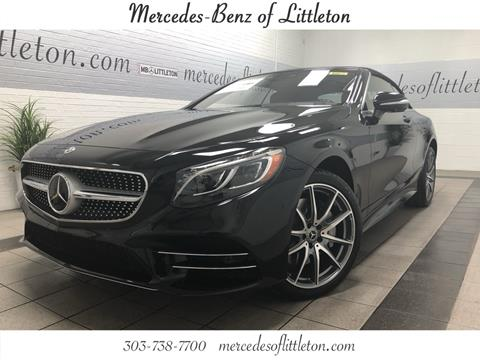 Mercedes benz s class for sale in colorado for Mercedes benz of littleton