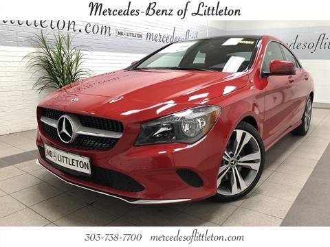 Elegant 2019 Mercedes Benz CLA For Sale In Littleton, CO