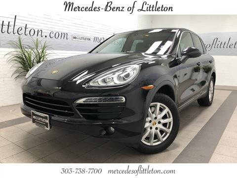 2014 Porsche Cayenne for sale in Littleton, CO
