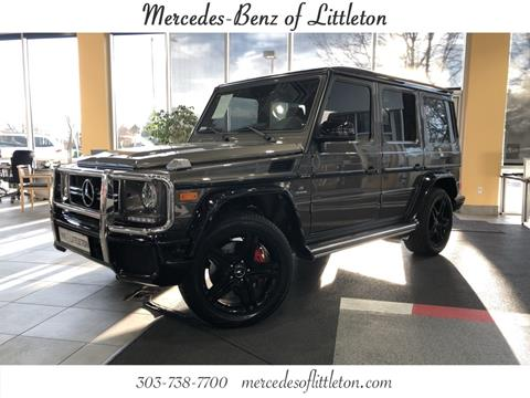 2018 Mercedes-Benz G-Class for sale in Littleton, CO
