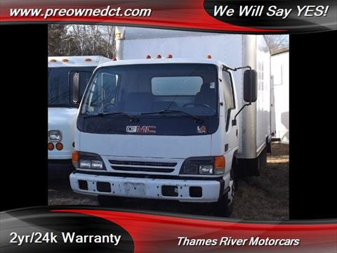 2001 GMC W4500 for sale in Uncasville, CT