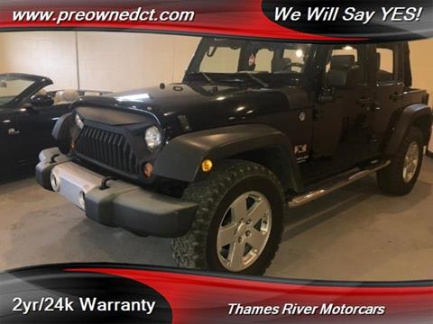 2008 Jeep Wrangler Unlimited for sale in Uncasville, CT
