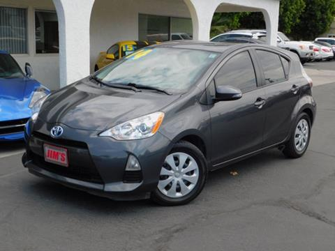 2014 Toyota Prius C For Sale At Jimu0027s Auto Sales In Fontana CA