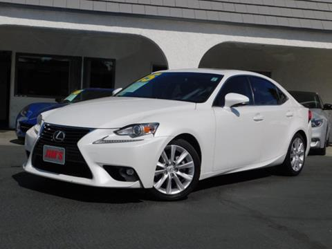 2015 Lexus IS 250 for sale in Fontana, CA