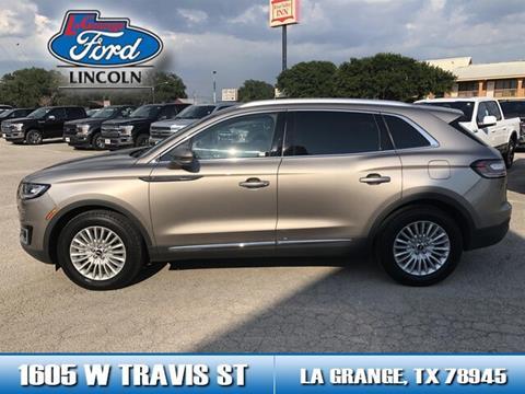 2019 Lincoln Nautilus for sale in La Grange, TX